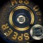 Mikrostempel eines Schalgbolzen